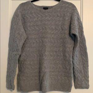 Grey crew sweater